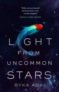 Cover to Light From Uncommon Stars featuring Space Koi!
